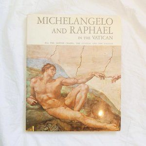 Michelangelo & Raphael Vatican Coffee Table Book